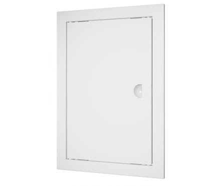 Дверца ревизионная пластиковая Д 100х100 белый
