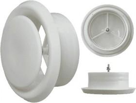 Диффузор (анемостат) универсальный,пластиковый 125